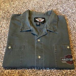 Harley-Davidson Short Sleeve Shop Shirt